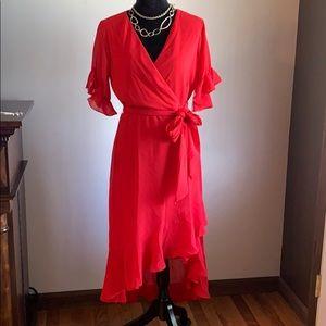 LuLu's ruffled dress